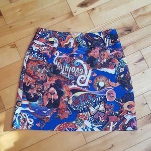 Le Chateau Beatles mini skirt